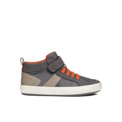 GEOX ALONISSO GREY ORANGE