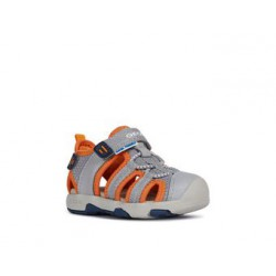 GEOX MULTY GREY ORANGE