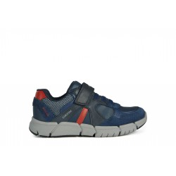 GEOX FLEXYPER NAVY RED